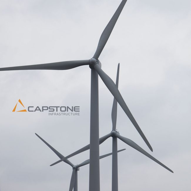 Capstone Infrastructure: Logo and visual identity system (developed in collaboration with Craib Design & Communications)