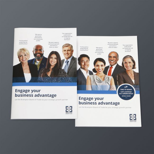 Brampton Board of Trade: Marketing packages aimed at prospective and renewing members