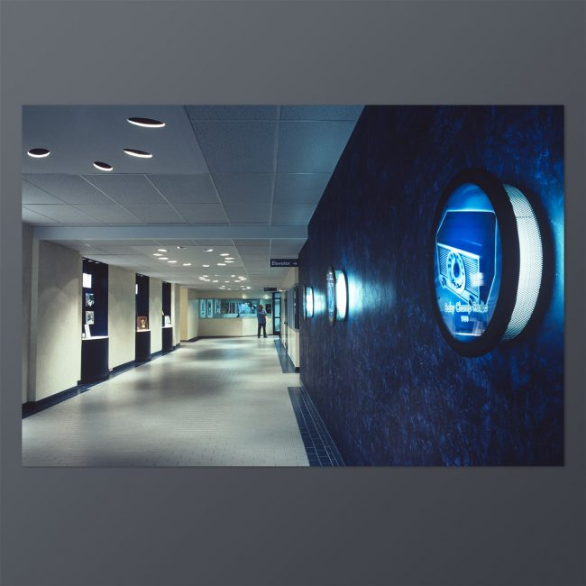 Nortel: Conceptualization project for production facility / completed entrance corridor refresh